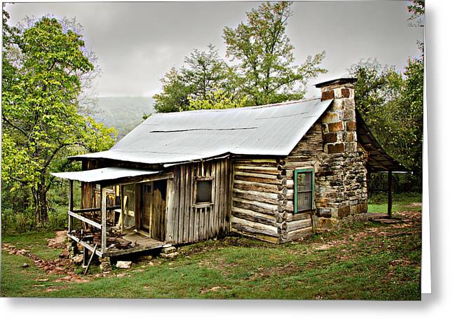Historic Stucture Greeting Cards - 1209-1144 Historic Villines Homestead Greeting Card by Randy Forrester