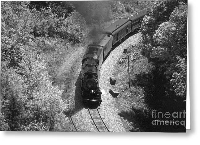 Southern Class Greeting Cards - 1218 Loops BW Greeting Card by Gordon Mooneyhan