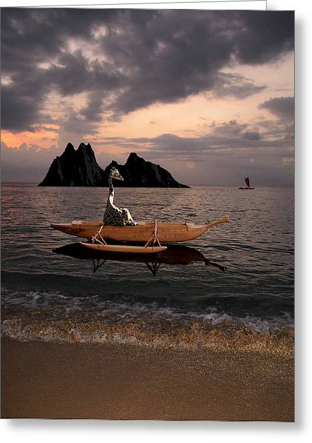 Canoe Photographs Greeting Cards - 123 Greeting Card by Peter Holme III