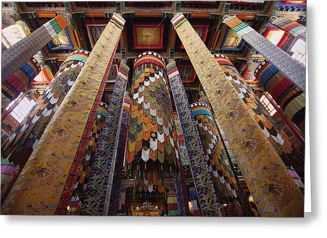 Tibetan Buddhism Greeting Cards - Untitled Greeting Card by Phil Borges