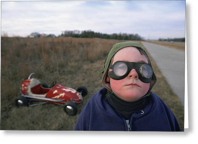 Go Cart Greeting Cards - Untitled Greeting Card by National Geographic