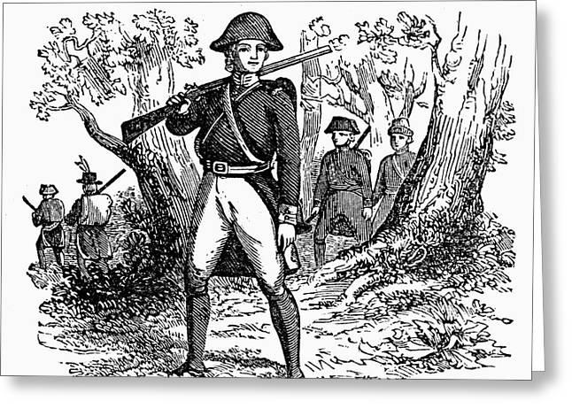 George Washington Greeting Card by Granger