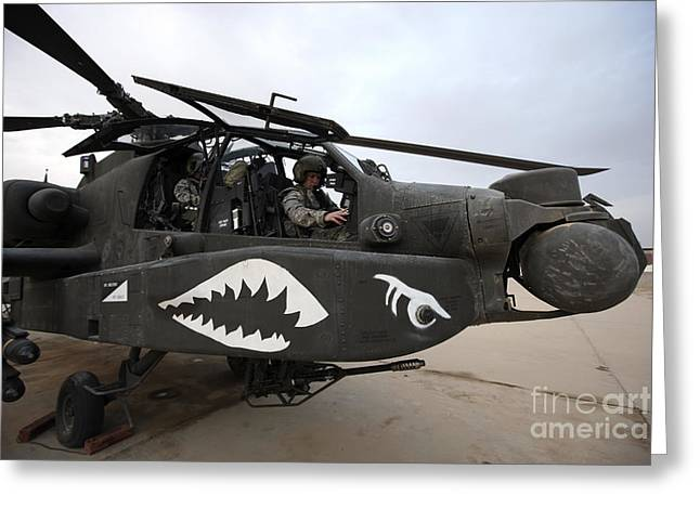 Ah-64 Greeting Cards - An Ah-64d Apache Longbow Block Iii Greeting Card by Terry Moore