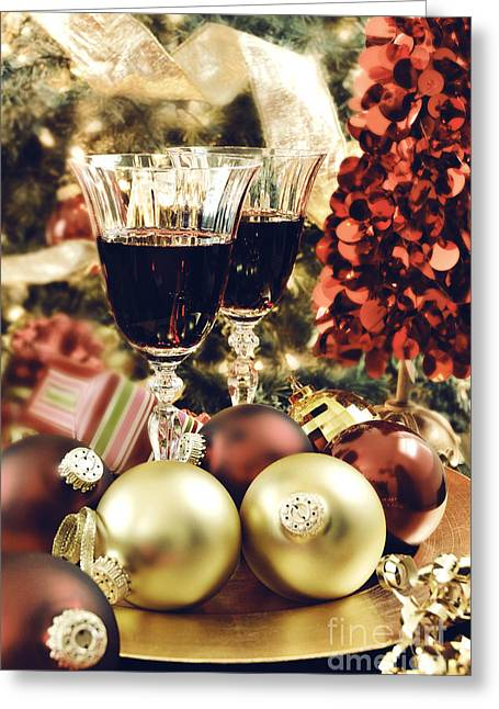 Christmas Greeting Photographs Greeting Cards - Christmas Greeting Card by HD Connelly