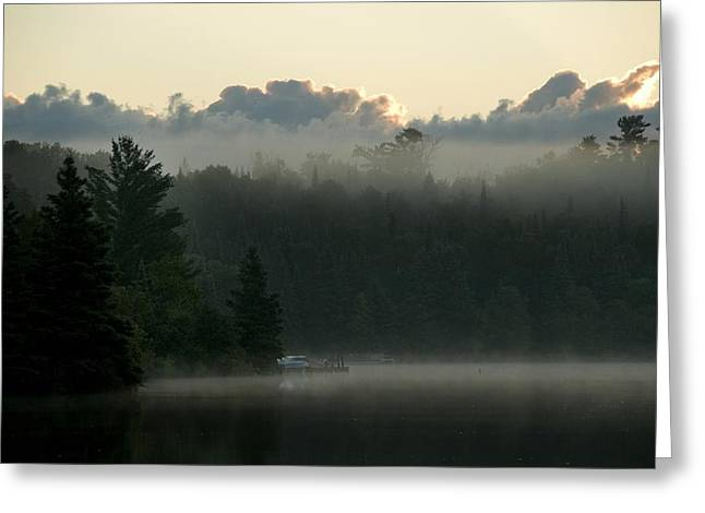 Peaceful Scenery Greeting Cards - Lake Of The Woods, Ontario, Canada Greeting Card by Keith Levit