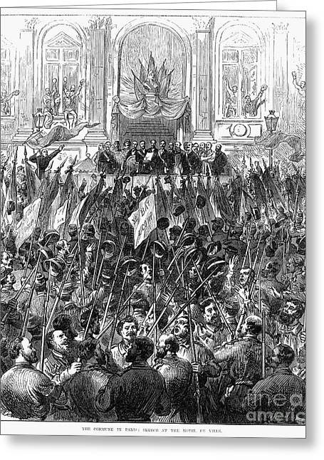 Bayonet Greeting Cards - Paris Commune, 1871 Greeting Card by Granger