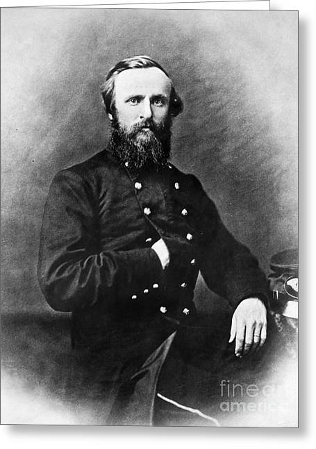 19th Century America Greeting Cards - Rutherford B. Hayes Greeting Card by Granger