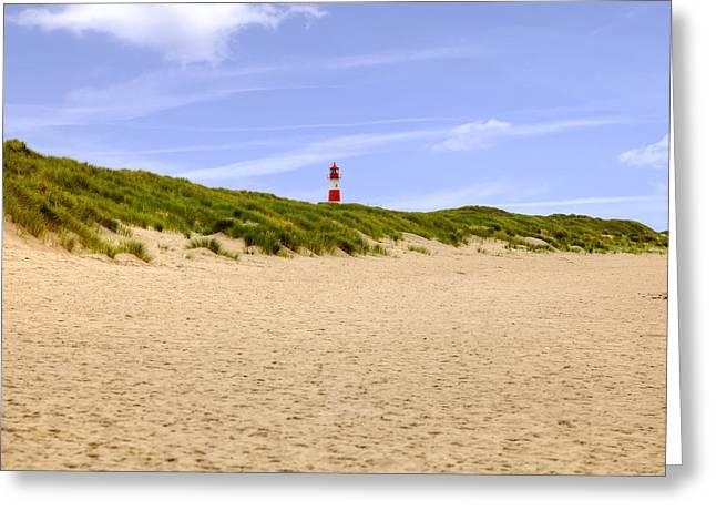 Sandy Beaches Greeting Cards - Sylt Greeting Card by Joana Kruse