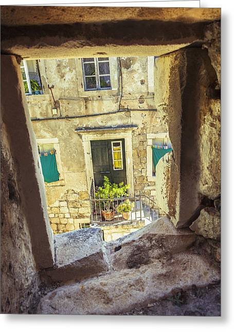 Residential Structure Greeting Cards - Untitled Greeting Card by Greg Stechishin