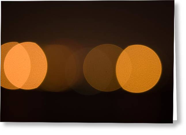 Modern Photographs Greeting Cards - Light Greeting Card by Odon Czintos