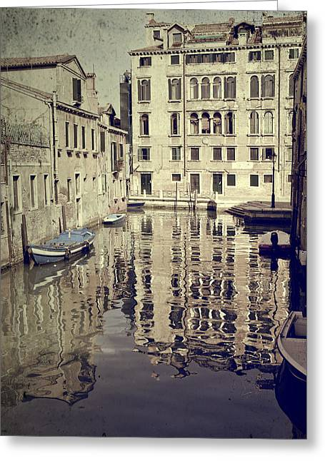Left Alone Greeting Cards - Venezia Greeting Card by Joana Kruse