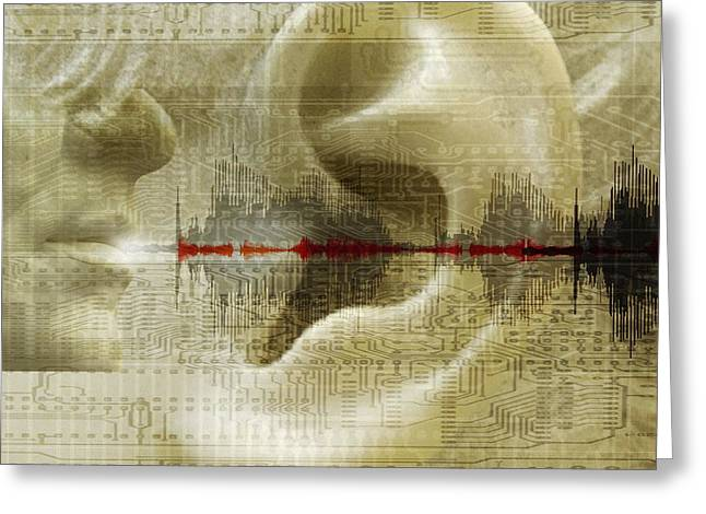 Voice Recognition Greeting Card by Mehau Kulyk