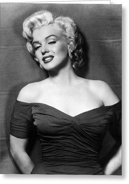 20th Greeting Cards - Marilyn Monroe (1926-1962) Greeting Card by Granger