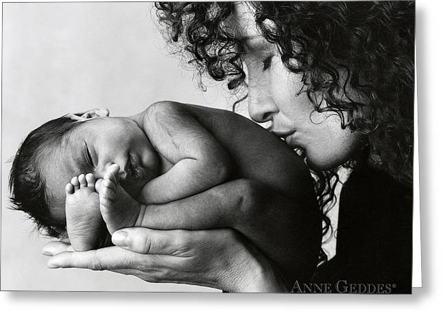 Black Woman Greeting Cards - Untitled Greeting Card by Anne Geddes