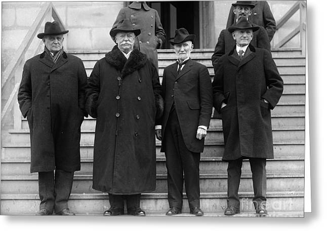 Congressman Photographs Greeting Cards - William Howard Taft Greeting Card by Granger
