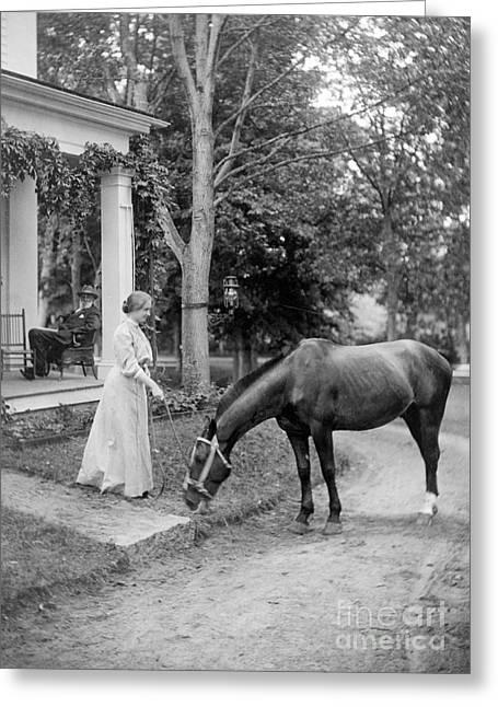 1907 Greeting Cards - Helen Adams Keller Greeting Card by Granger