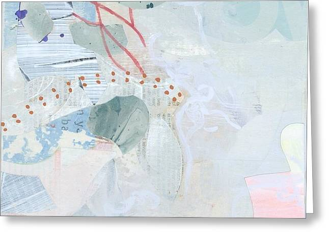 Breezy Mixed Media Greeting Cards - Untitled Greeting Card by Alexandra Sheldon