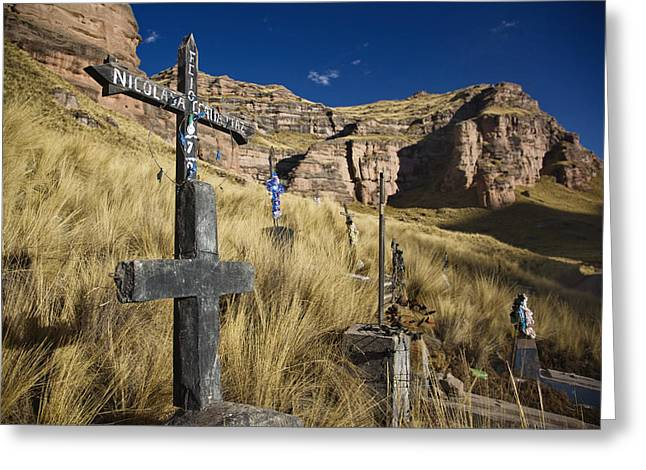 Place Of Burial Greeting Cards - Untitled Greeting Card by Phil Borges