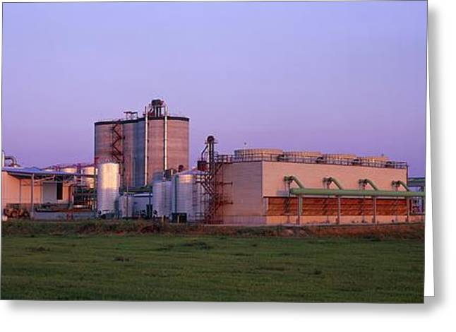 21st Greeting Cards - Corn Ethanol Processing Plant Greeting Card by David Nunuk