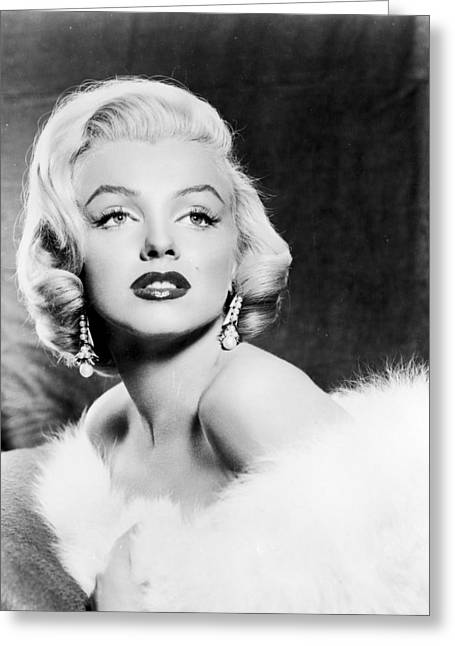 Recently Sold -  - 20th Greeting Cards - Marilyn Monroe (1926-1962) Greeting Card by Granger