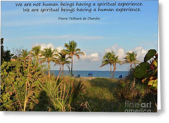 Chardin Greeting Cards - 17- Spiritual Experience Greeting Card by Joseph Keane