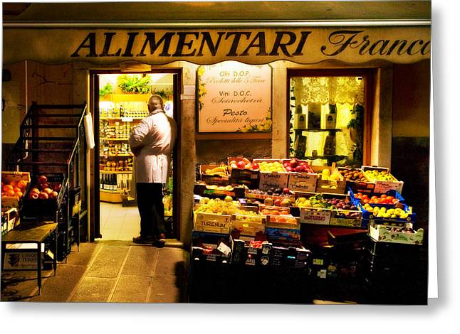 Alimentari Greeting Cards - 1764 Greeting Card by John Galbo