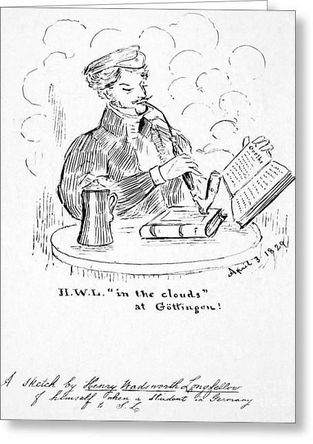 Henry Wadsworth Longfellow Greeting Card by Granger