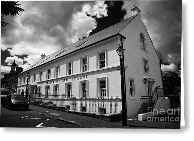 Gracehill Greeting Cards - 18th Century Gracehill Old School And Village Greeting Card by Joe Fox
