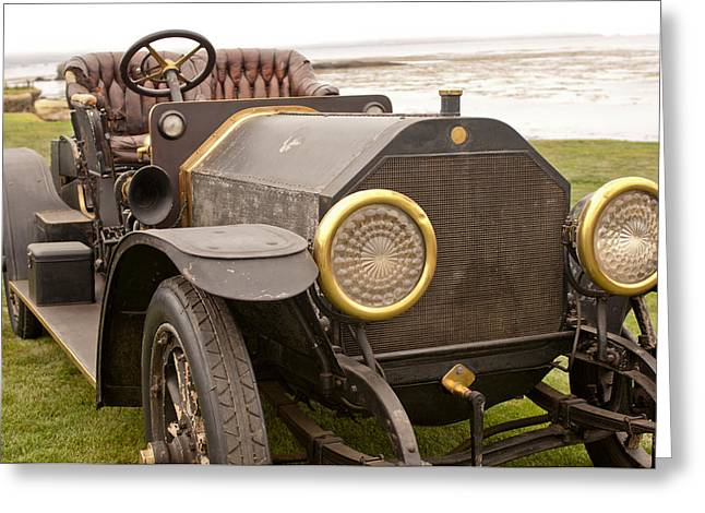 1907 Greeting Cards - 1907 Fiat Tipo 50-60 Hol-Tan Greeting Card by Jill Reger
