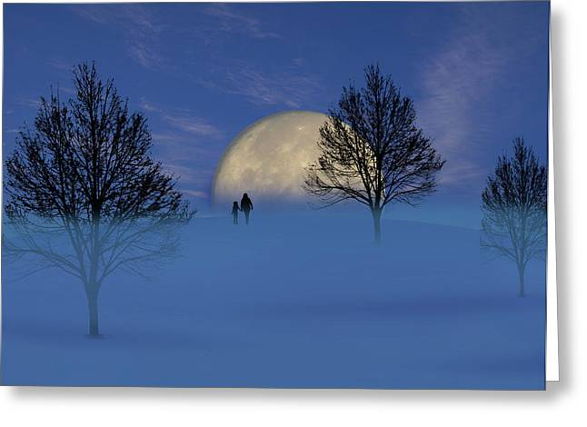 1910 Greeting Card by Peter Holme III