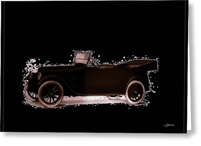 1919 Studebaker EH Greeting Card by Maciej Froncisz