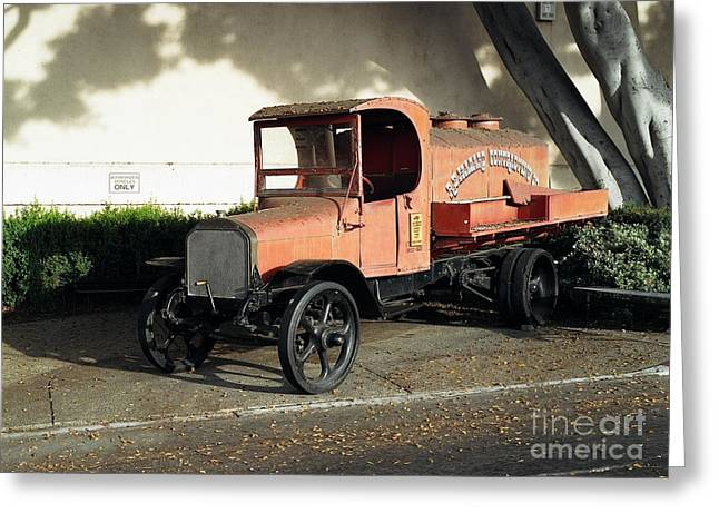 Sit-ins Photographs Greeting Cards - 1922 Mack Truck Greeting Card by Dean Robinson