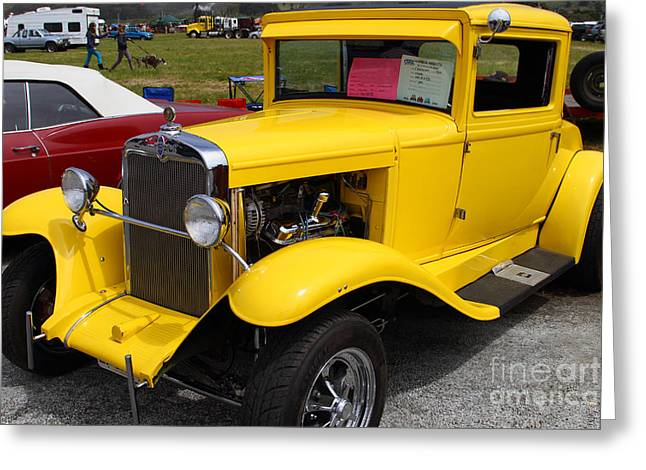 1929 Chevrolet Coupe 7d15140 Greeting Card by Wingsdomain Art and Photography