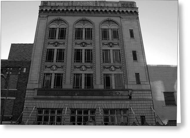Tampa Buildings Greeting Cards - 1929 Kress Architecture Greeting Card by David Lee Thompson