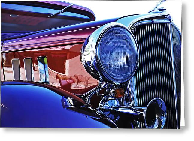 Booze Greeting Cards - 1933 Chevrolet Eagle Greeting Card by Terril Heilman