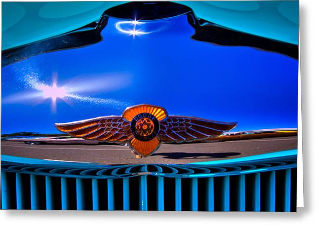 1933 Dodge Coupe Greeting Card by David Patterson