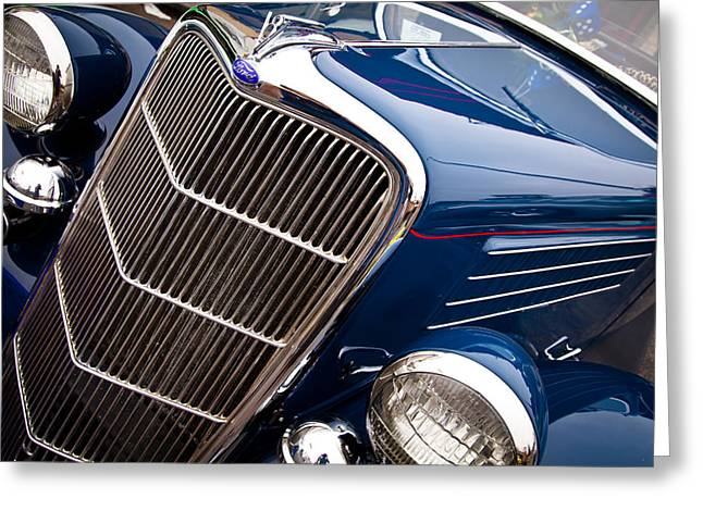 Mascots Greeting Cards - 1935 Ford Coupe Greeting Card by David Patterson
