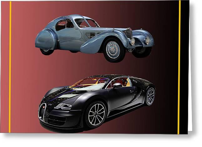 Sister Framed Prints Greeting Cards - 1936 Bugatti 2010 Bugatti Greeting Card by Jack Pumphrey