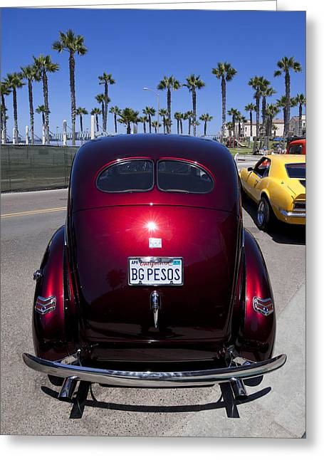 Rep Greeting Cards - 1940 Ford Goldeez Greeting Card by Richard Leon