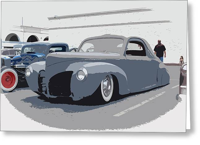 1940 Lincoln Greeting Card by Steve McKinzie