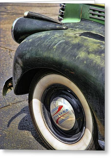 Long Bed Greeting Cards - 1946 Chevy Pick Up Greeting Card by Gordon Dean II