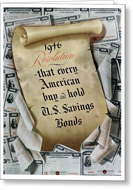 War Propaganda Greeting Cards - 1946 Resolution  Greeting Card by War Is Hell Store