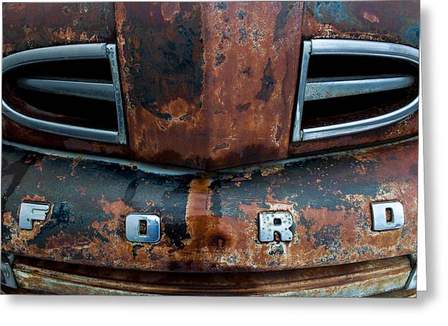 Daysray Photography Greeting Cards - 1948 Ford Greeting Card by Fran Riley