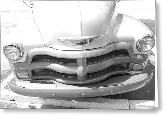 Bowtie Digital Greeting Cards - 1950s Chevy Greeting Card by Rob Hans