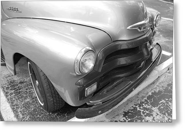 Bowtie Digital Greeting Cards - 1950s Chevy Truck Greeting Card by Rob Hans