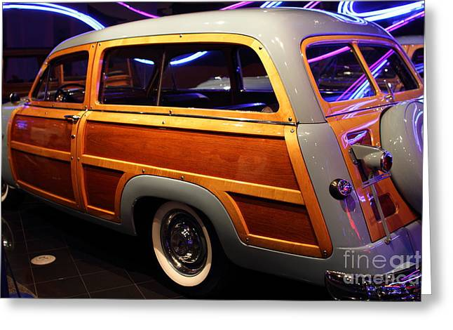 1951 Ford Country Squire - 7D17485 Greeting Card by Wingsdomain Art and Photography