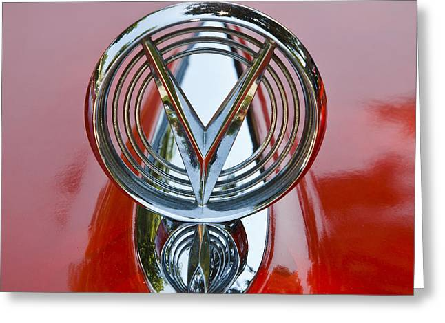 1955 Buick Greeting Cards - 1955 Buick Special Greeting Card by Dennis Hedberg