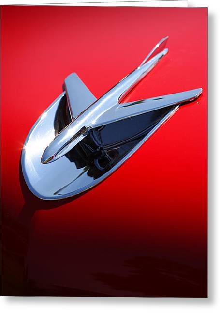 1955 Buick Greeting Cards - 1956 Buick Riviera Special Greeting Card by Gordon Dean II