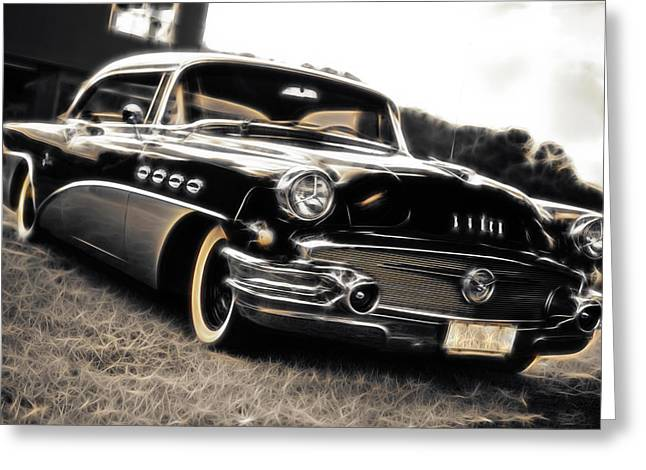Aotearoa Greeting Cards - 1956 Buick Super Series 50 Greeting Card by Phil