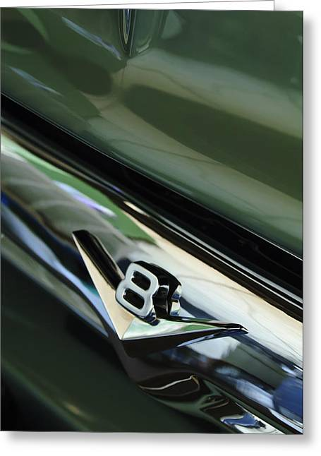 1956 Ford Truck Greeting Cards - 1956 Ford F-100 Truck Emblem 3 Greeting Card by Jill Reger